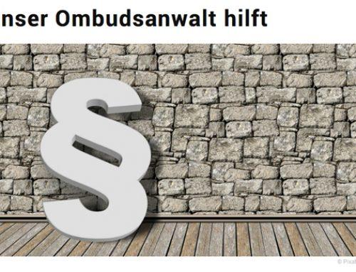 Unser Ombudsanwalt hilft – FM Online
