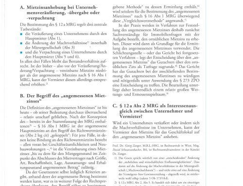 """Artikel im immolex: """"Unternehmensveräußerung in Zeiten von Corona"""""""